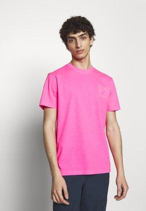 T-shirts print - neon pink