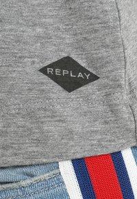 Replay - LONG SLEEVES - Camiseta de manga larga - medium grey melange - 6