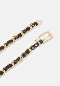 ONLY - ONLEYA CHAIN BELT - Belte - black/gold-coloured - 1