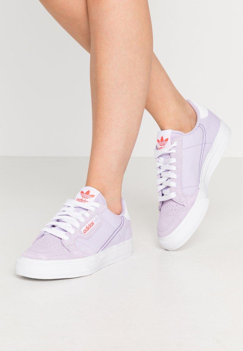 adidas Originals - CONTINENTAL VULC - Sneakers - lilac