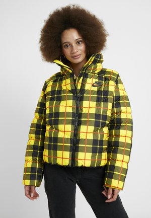 Winter jacket - chrome yellow/black
