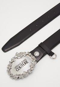 Versace Jeans Couture - Pasek - black/silver - 2