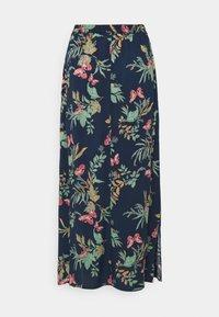 Vero Moda - VMSIMPLY EASY SKIRT - Maxi skirt - navy blazer - 6