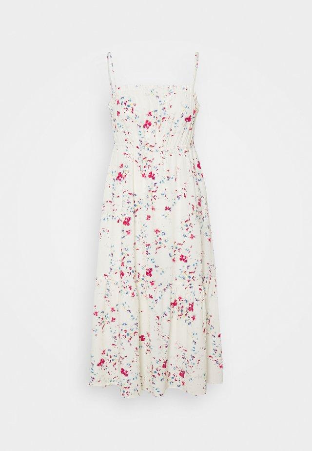 VMMILA SINGLET CALF DRESS  - Korte jurk - birch