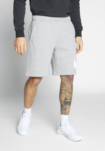 CLUB - Shorts - grey heather/white
