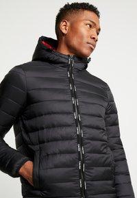 Calvin Klein - HOODED LINER - Giacca invernale - black - 5