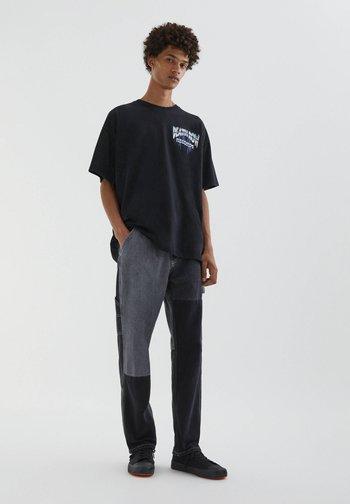 DEATH ROW - Print T-shirt - black