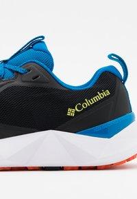 Columbia - FACET15 - Hiking shoes - black/fathom blue - 5