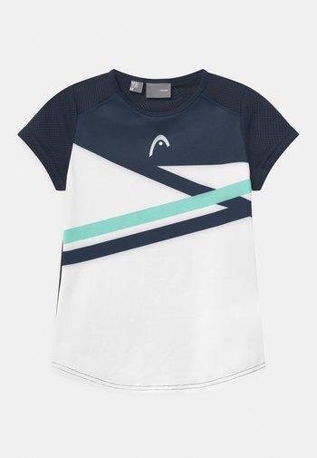 SAMMY - Print T-shirt - white