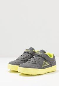 Kappa - DALTON ICE - Sports shoes - grey/lime - 3