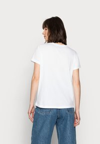Mos Mosh - MAVIS TEE - Print T-shirt - white - 2