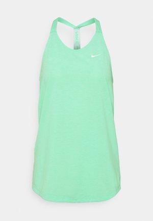 DRY ELASTIKA TANK - Camiseta de deporte - green glow/heather/white