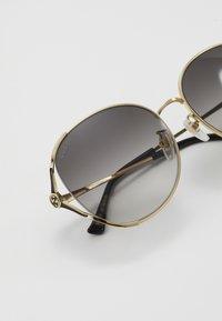 Gucci - Solbriller - gold-coloured/grey - 5