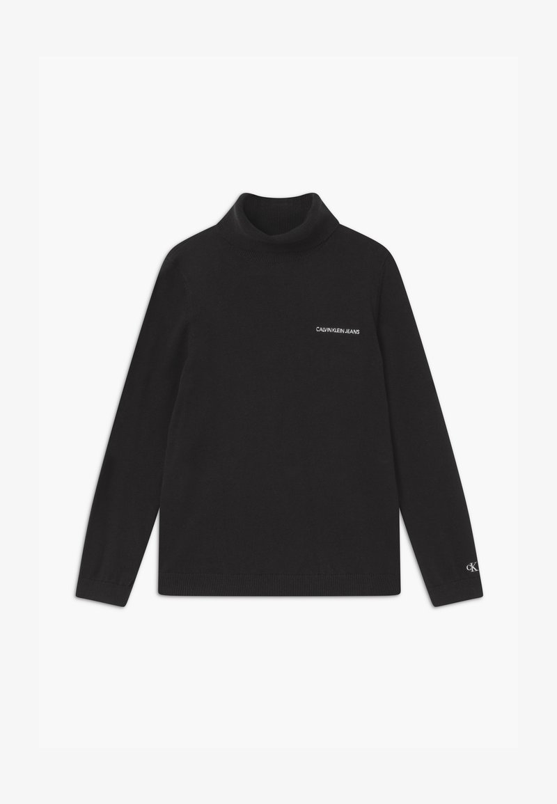 Calvin Klein Jeans - ROLL NECK - Jumper - black