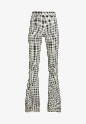 GINGHAM GIRL PANT - Kalhoty - black/grey
