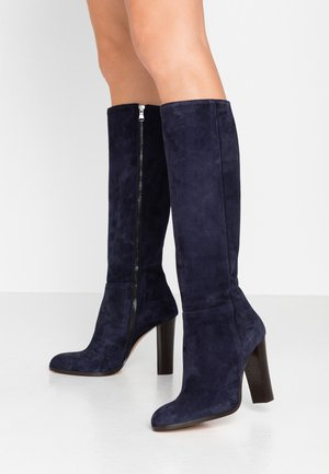 SALEMAS - High heeled boots - marine