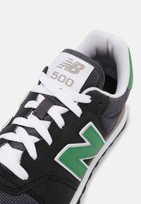 New Balance - 500 - Trainers - black/green - 5
