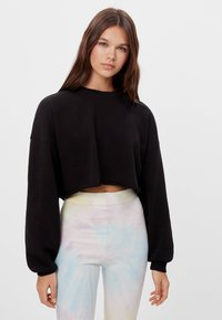 Bershka - Sweater - black - 0