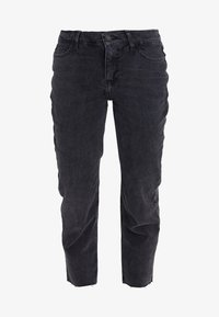 New Look Petite - STRAIGHT CROP HARLOW - Jeans Straight Leg - black - 4