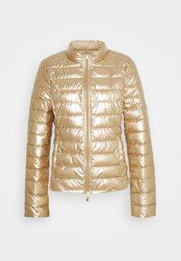 Patrizia Pepe - PIUMINO JACKET - Winter jacket - gold/mastic - 0