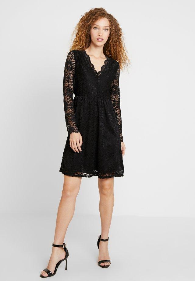 VIKAISA DRESS - Sukienka koktajlowa - black