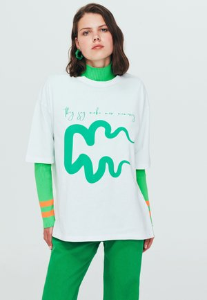 CASUAL  - T-shirt print - white