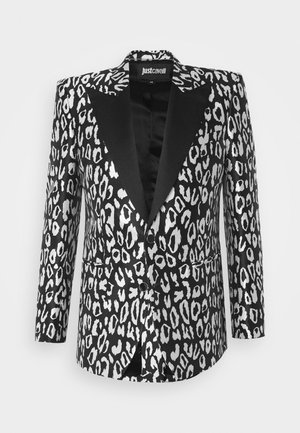 GIACCA - Suit jacket - black/white