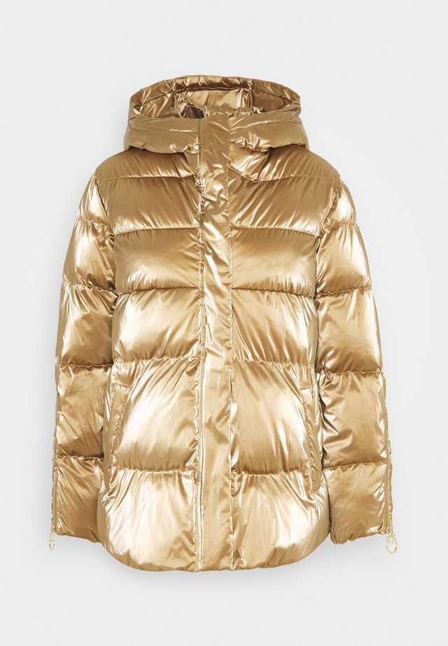 SAVIO QUILTED JACKET - Winter jacket - gold