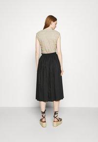ARKET - SKIRT - A-line skirt - black - 2