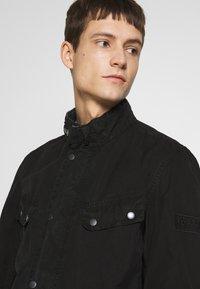 Barbour International - COLOURED DUKE CASUAL - Summer jacket - black - 3