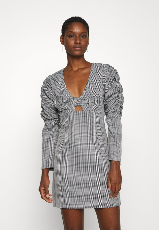 THE DUCHESS MINI DRESS - Cocktailjurk - grey
