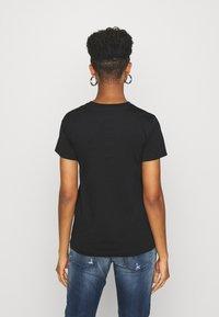 Diesel - SILY CUTY - Print T-shirt - black - 2