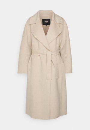 GWENN - Classic coat - ecru
