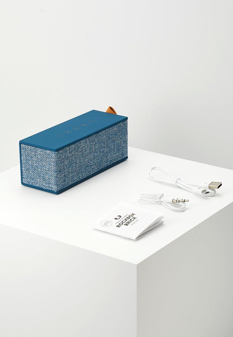 Fresh 'n Rebel ROCKBOX BRICK FABRIQ EDITION BLUETOOTH SPEAKER - Speaker - indigo/mørkeblå Nymb2GKoenGuTmT
