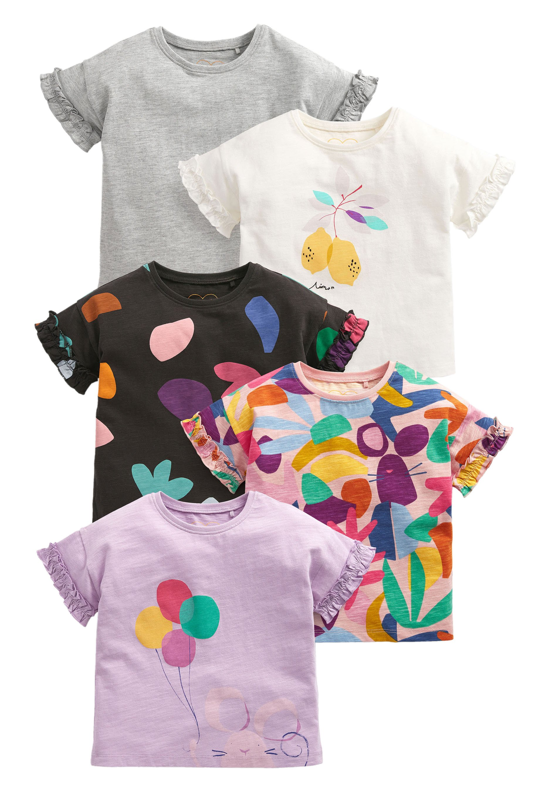 Bambini 5 PACK - T-shirt con stampa