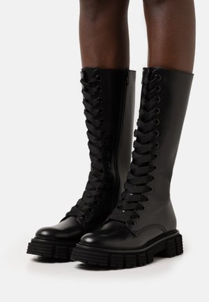 SPICE - Lace-up boots - schwarz