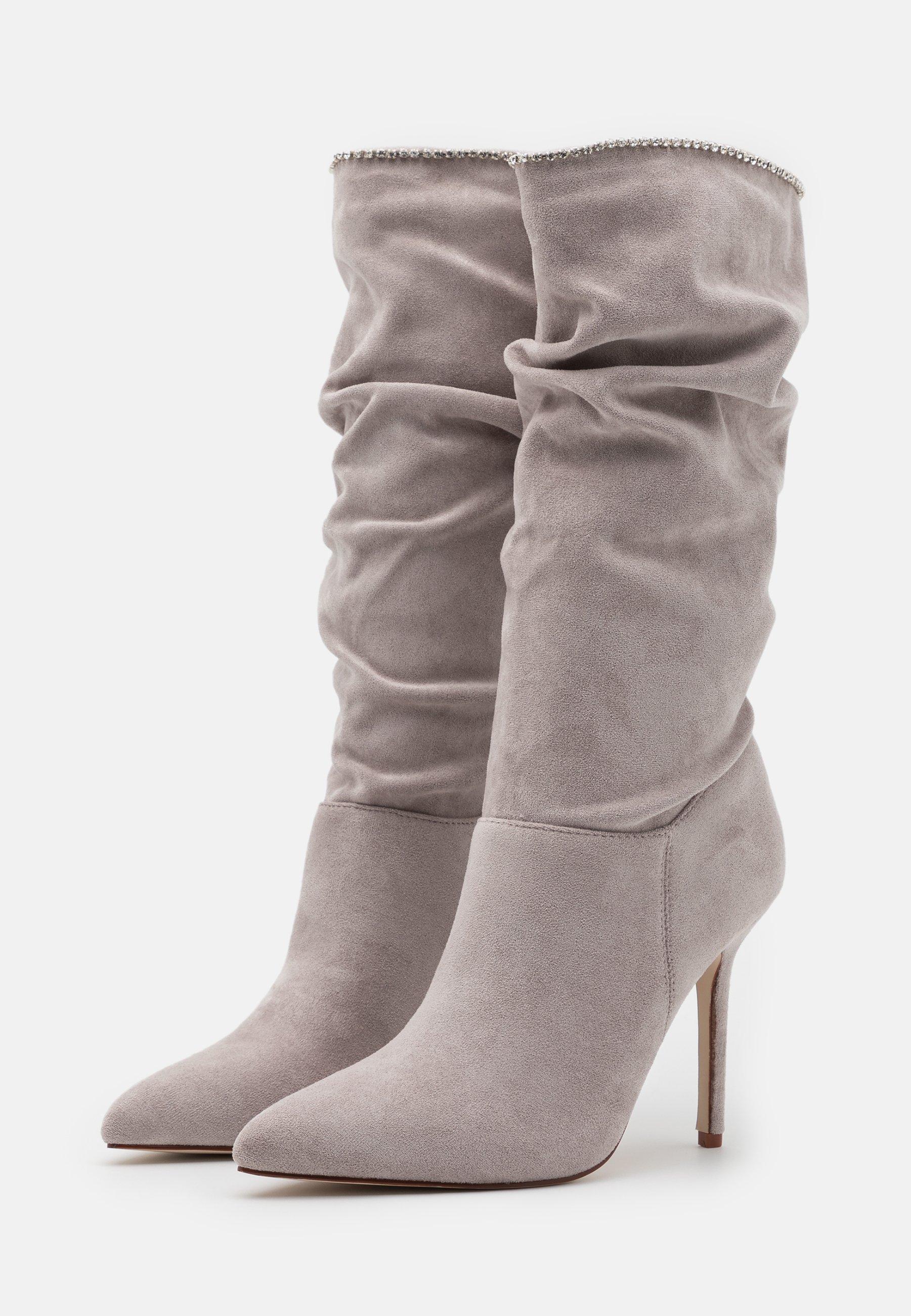 BEBO SHORE High Heel Stiefel grey/grau