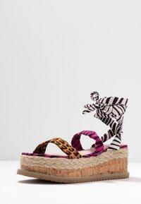Public Desire - FRESCA - Platform sandals - multicolor - 4