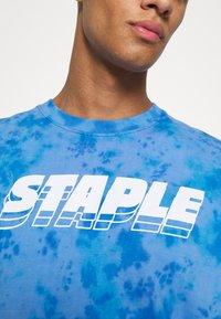 STAPLE PIGEON - LOGO TEE UNISEX - Print T-shirt - blue - 6