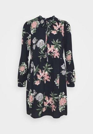 VMSAGA SHORT DRESS - Day dress - navy blazer/sita
