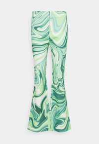 HOSBJERG - VILMA PALOMA PANTS - Trousers - green liquid - 0