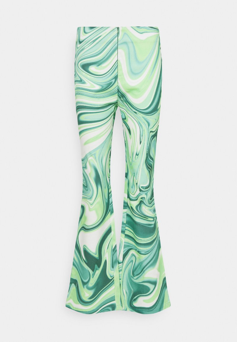 HOSBJERG - VILMA PALOMA PANTS - Trousers - green liquid