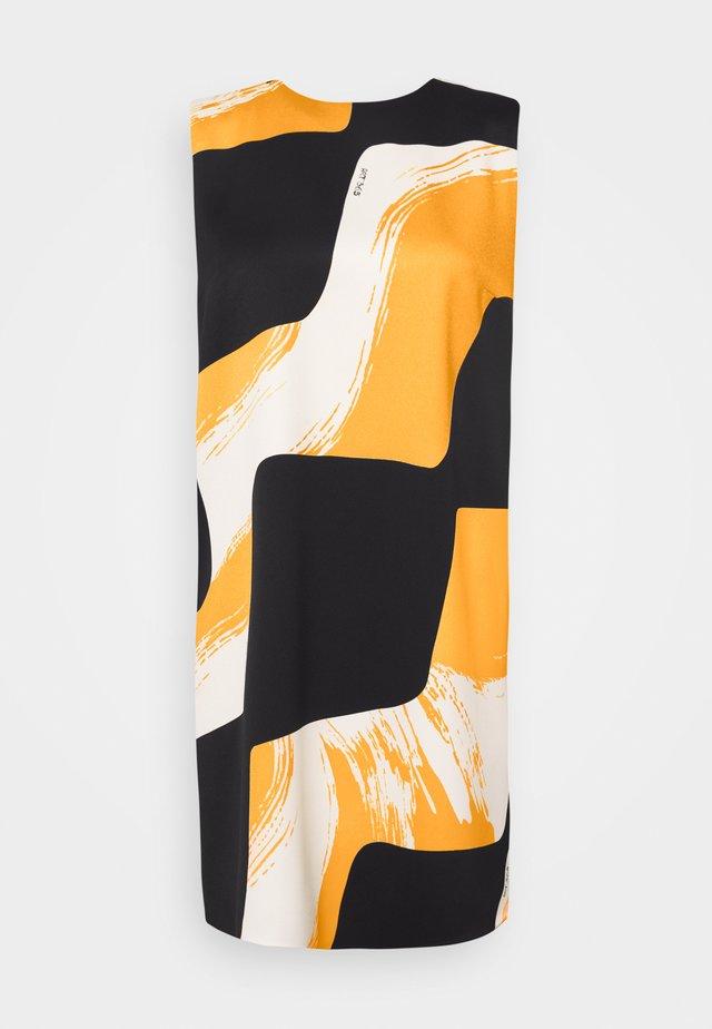 PEC - Korte jurk - giallo luce