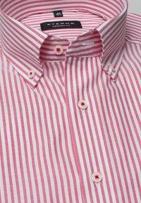 Eterna - COMFORT FIT - Shirt - rot/weiss - 5