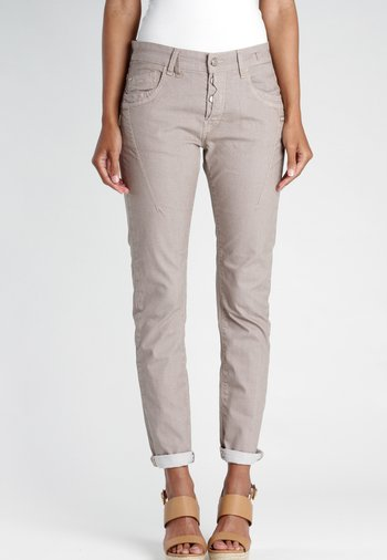 NEW GEORGINA - Trousers - brown pecannut bijou