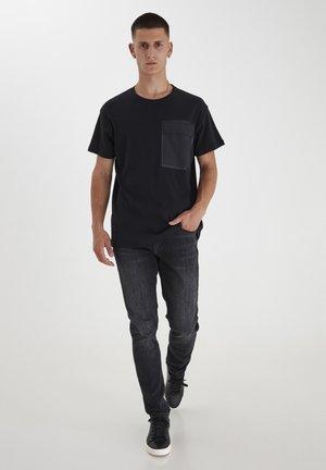 TUE  - Basic T-shirt - anthracite black