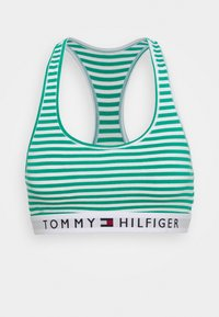 Tommy Hilfiger - ORIGINAL BRALETTE STRIPE - Alustoppi - green/white - 4