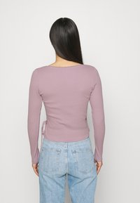 Monki - Langærmede T-shirts - lilac/purple dusty light - 2