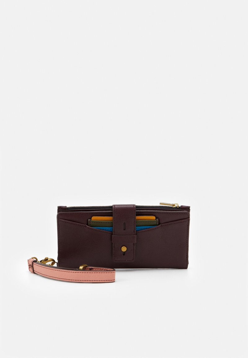 Fossil - WILLA SET - Lommebok - red
