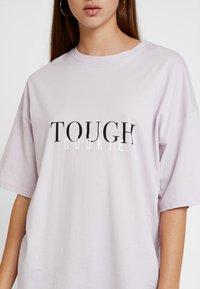 Even&Odd - Print T-shirt - lilac - 4